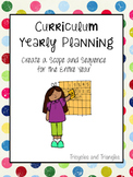 Curriculum Yearly Planning