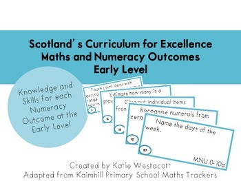 Curriculum for Excellence Early Level Numeracy Outcome Ski