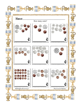 Curriculum worth Celebrating Counting Coins under 80 cents ~ One Work Sheet