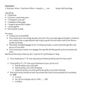 Currywurst recipe math