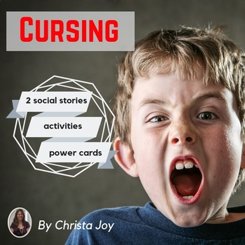 Cursing Social Story and Activities