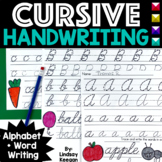 Alphabet Cursive Handwriting Practice for Capital and Lowercase Letters