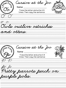 Cursive Review