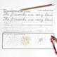Cursive Handwriting Practice - Sentence Writing Part 2