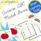 Cursive ABC Match Game