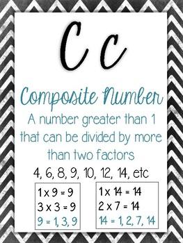 Cursive ABC's of 4th Grade Math