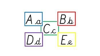 Cursive Alphabet