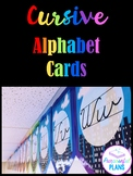 Cursive Alphabet Posters - Superhero City Classroom Decor Theme