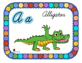 Cursive Alphabet Flashcards