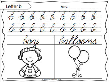 Cursive Alphabet Handwriting Practice | PDF & Digital for Distance Learning