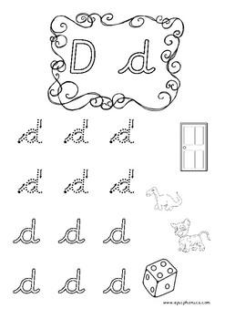 Cursive Alphabet Handwriting Practice Worksheets