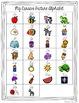 Cursive Alphabet Line - Cool Shades Polka Dot