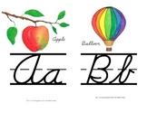 Alphabet Line Small Version {Cursive}