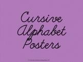 Cursive Alphabet-Lined