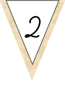 Cursive Alphabet & Numbers in Boardwalk & Surfing Theme