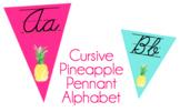 Cursive Alphabet- Pineapple!