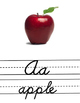 Cursive Alphabet - Poster Display- Handwriting
