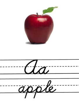 Alphabet Posters for Classroom | Cursive | Handwriting