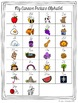 Cursive Alphabet Posters - Black, White & Red Polka Dot