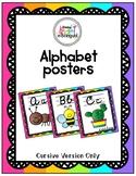 Alphabet Posters - Cursive