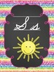 Cursive Alphabet Posters and Pennants