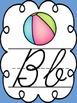 Cursive Alphabet Posters with Line