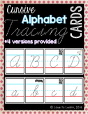 Cursive Alphabet Tracing Cards