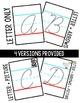 Cursive Alphabet Tracing Cards