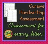 Cursive Assessment  - Improve Your Cursive Writing