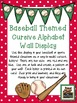 Cursive Baseball Bundle! *Desk, Wall, Calendar, & Reading Log!*