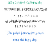 Cursive Calligraphy Font (.ttf)