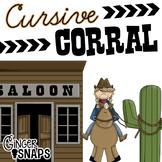 Cursive Corral