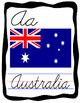 Cursive Country Alphabet