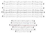 Cursive Font Family - Dyslexia Friendly
