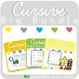 Cursive Handwriting Big Bundle