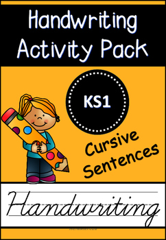 Cursive Handwriting Activity Pack