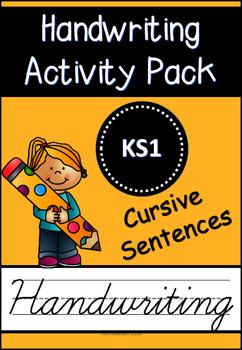 Cursive Handwriting Activity Pack