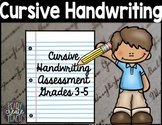 Cursive Handwriting Assessment