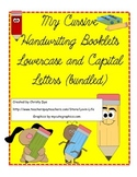 Cursive Handwriting Booklets- 2 Booklets- All Capital and