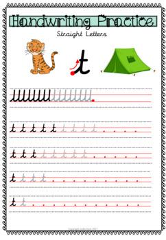 Cursive Handwriting Bundle - The Whole Family!