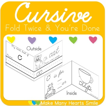 Cursive Handwriting: Fold Twice and You're Done