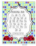 Cursive Handwriting Guide - Ladybug
