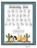 Cursive Handwriting Guide - Western