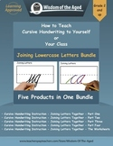 Handwriting Distance Learning- Joining Letters Videos, Wor