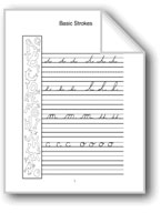 Cursive Handwriting: K, L, M, N, O