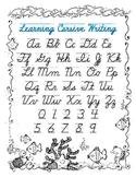 Cursive Handwriting Key