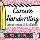Cursive Handwriting PRACTICE PAGES