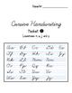 Cursive Handwriting Packet Covers