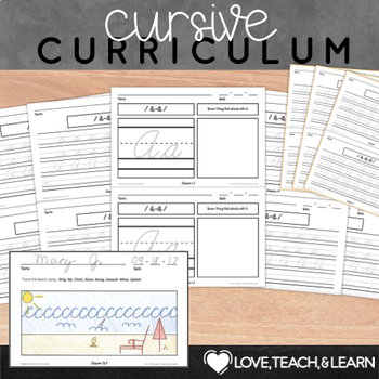 Cursive Handwriting Practice for Kindergarten