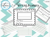 Cursive Handwriting Portfolio-68 Pages!